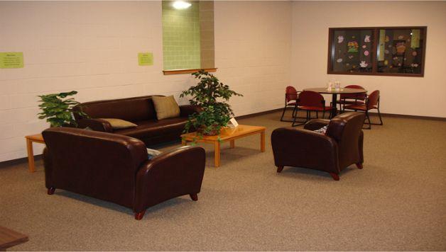 Spotless Reception Area